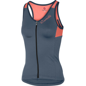 Castelli Solare Bike Jersey Sleeveless Women blue